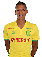 Yacine Bammou during photocall of Fc Nantes for new season of Ligue 1 on September 14th 2016<br /> Photo : Fcna / Icon Sport
