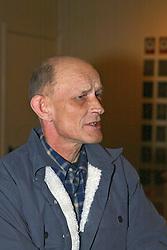 Mr. Wolters fokker Jikke<br /> KWPN Hengstenkeuring - 's Hertogenbosch 2005<br /> Photo © Hippo Foto