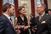 JONATHAN DAWSON; MOYA DAWSON; KEITH O'CALLAGHAN, Book launch for The Speedicut Papers, edited by Christopher Joll.- Bucks Club, Clifford St. London W1.