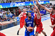 DESCRIZIONE : Trento Nazionale Italia Uomini Trentino Basket Cup Italia Austria Italy Austria <br /> GIOCATORE : Luigi Datome<br /> CATEGORIA : Tecnica<br /> SQUADRA : Italia Italy<br /> EVENTO : Trentino Basket Cup<br /> GARA : Italia Austria Italy Austria<br /> DATA : 31/07/2015<br /> SPORT : Pallacanestro<br /> AUTORE : Agenzia Ciamillo-Castoria/GiulioCiamillo<br /> Galleria : FIP Nazionali 2015<br /> Fotonotizia : Trento Nazionale Italia Uomini Trentino Basket Cup Italia Austria Italy Austria