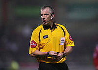 Photo: Rich Eaton.<br /> <br /> Crewe Alexander v Manchester United. Carling Cup. 25/10/2006. Referee Mr Foy