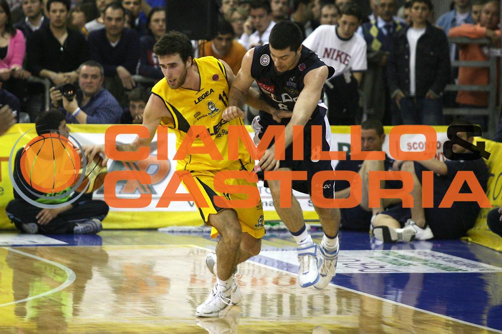 DESCRIZIONE : Scafati Lega A1 2006-07 Legea Scafati Eldo Napoli <br /> GIOCATORE : Datome <br /> SQUADRA : Legea Scafati <br /> EVENTO : Campionato Lega A1 2006-2007 <br /> GARA : Legea Scafati Eldo Napoli <br /> DATA : 15/04/2007 <br /> CATEGORIA : Palleggio <br /> SPORT : Pallacanestro <br /> AUTORE : Agenzia Ciamillo-Castoria/G.Ciamillo