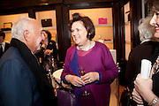 SUSY MENKES, Smythson Royal Wedding exhibition preview. Smythson together with Janice Blackburn has commisioned 5 artist designers to create their own interpretations of  Royal wedding memorabilia. Smythson. New Bond St. London. 5 April 2011.  -DO NOT ARCHIVE-© Copyright Photograph by Dafydd Jones. 248 Clapham Rd. London SW9 0PZ. Tel 0207 820 0771. www.dafjones.com.