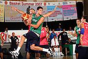 DESCRIZIONE : Bormio Ritiro Nazionale Italiana Maschile Preparazione Eurobasket 2007 Allenamento <br /> GIOCATORE : Danilo Gallinari<br /> SQUADRA : Nazionale Italia Uomini EVENTO : Bormio Ritiro Nazionale Italiana Uomini Preparazione Eurobasket 2007 GARA :<br /> DATA : 24/07/2007 <br /> CATEGORIA : Allenamento <br /> SPORT : Pallacanestro <br /> AUTORE : Agenzia Ciamillo-Castoria/S.Silvestri <br /> Galleria : Fip Nazionali 2007 <br /> Fotonotizia : Bormio Ritiro Nazionale Italiana Maschile Preparazione Eurobasket 2007 Allenamento <br /> Predefinita :