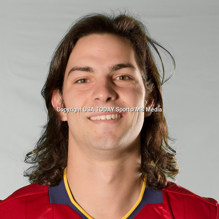 Feb 25, 2016; USA; Real Salt Lake player John Stertzer poses for a photo. Mandatory Credit: USA TODAY Sports