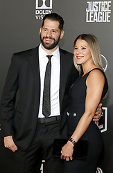 Ryan Kesler at the World premiere of 'Justice League' held at the Dolby Theatre in Hollywood, USA on November 13, 2017.