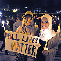 Muslim American Society vigil after San Bernardino shootings