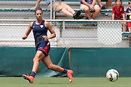 19 August 2014: Carli Lloyd. The United States Women's National Team held a public training session at WakeMed Stadium in Cary, North Carolina.
