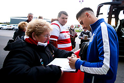 Tom Nichols of Bristol Rovers arrives at Doncaster Rovers - Mandatory by-line: Robbie Stephenson/JMP - 26/03/2019 - FOOTBALL - Keepmoat Stadium - Doncaster, England - Doncaster Rovers v Bristol Rovers - Sky Bet League One