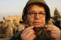 Al with pen at Abu Ghraib