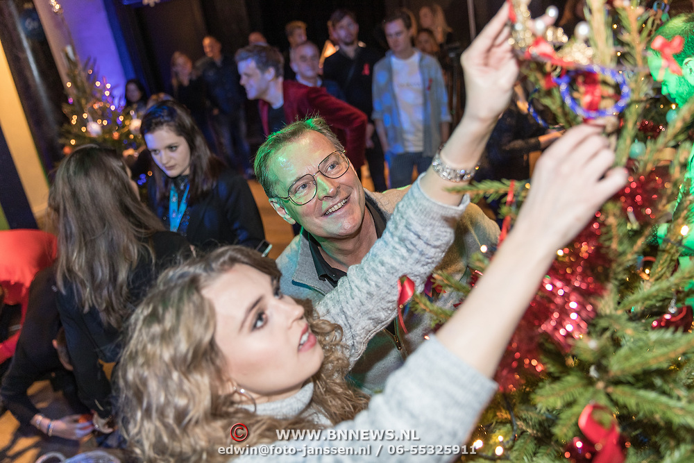 NLD/Amsterdam/20191206 - Sky Radio's Christmas Tree For Charity 2019, Tessa Sunniva van Tol en Albert Verlinde