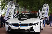 BMW electric safety car during the FIA Formula E Visa London ePrix  at Battersea Park, London, United Kingdom on 28 June 2015. Photo by Matthew Redman.