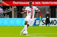 Ismael TRAORE  - 20.12.2014 - Brest / Ajaccio - 18eme journee de Ligue 2 -<br /> Photo : Vincent Michel / Icon Sport