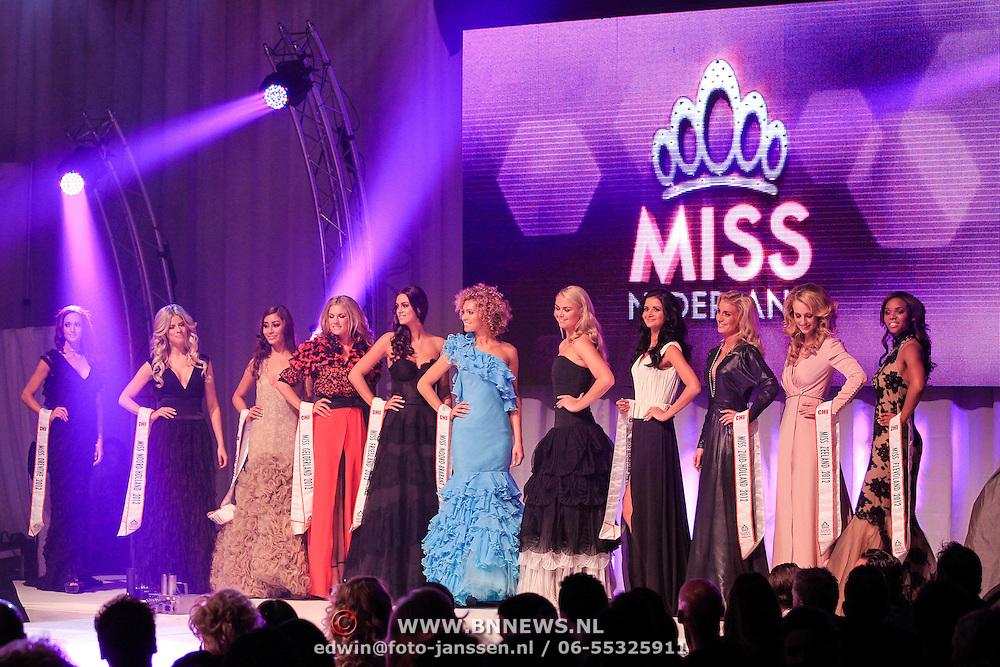 NLD/Bunnik/20121210 - Finale Miss Nederland 2013, alle missen