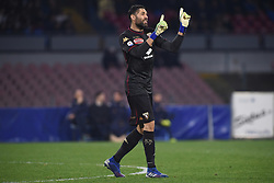 February 17, 2019 - Naples, Naples, Italy - Salvatore Sirigu of Torino FC during the Serie A TIM match between SSC Napoli and FC Torino at Stadio San Paolo Naples Italy on 17 February 2019. (Credit Image: © Franco Romano/NurPhoto via ZUMA Press)
