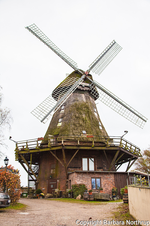 Windmill in Eutin.