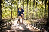 Karina & Brett's engagement photo shoot at the Guelph Arboretum