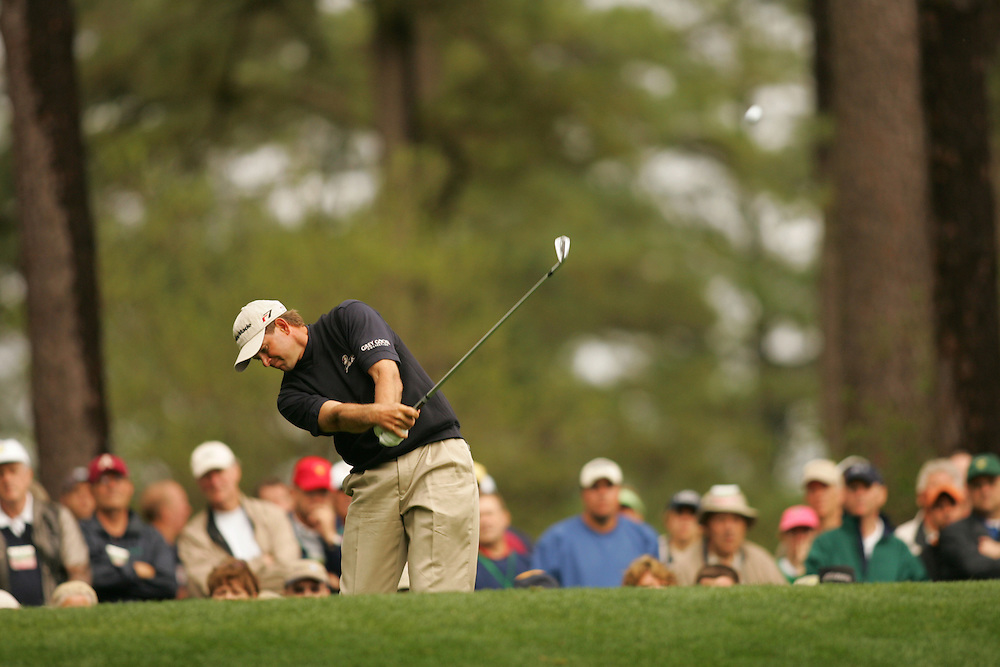 Retief Goosen..2005 Masters Tournament.First Round.Augusta National GC.Augusta GA.Thursday, April 7 2005..photograph by Darren Carroll..04-07-05...