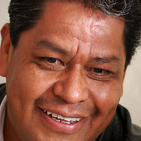 """Toluca, Mex.- Luis Zamora Calzada, líder del Sindicato Único de Maestros y Académicos del Estado de México (SUMAEM), dio a conocer once propuestas para ser incluidas en la """"Ley de Educación del estado de México"""". Agencia MVT / Rummenige Velasco. (DIGITAL)<br /> <br /> <br /> <br /> NO ARCHIVAR - NO ARCHIVE"""