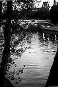 River, Seine,Paris; France, night