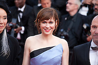 Actress Marie-Josee Croze at the gala screening for the film The Unknown Girl (La Fille Inconnue) at the 69th Cannes Film Festival, Wednesday 18th May 2016, Cannes, France. Photography: Doreen Kennedy