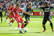 20-08-2017: Voetbal: FC Utrecht v Willem ll: Utrecht<br /> <br /> (L-R) FC Utrecht speler Giovanni Troupe tijdens het Eredivisie duel tussen FC Utrecht en Willem II op 20 augustus 2017 in stadion Galgenwaard te Utrecht<br /> <br /> Eredivisie - Seizoen 2017 / 2018 (speelronde 2)<br /> <br /> Foto: Gertjan Kooij