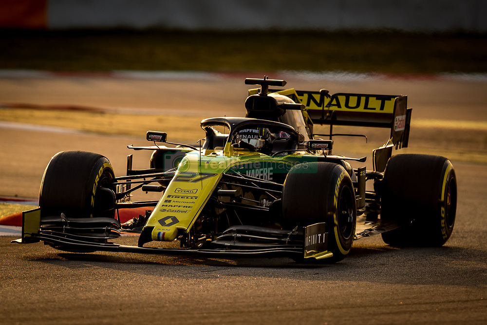 February 19, 2019 - Montmelo, Barcelona, Catalonia, Spain - Barcelona-Catalunya Circuit, Montmelo, Catalonia, Spain - 19/02/2018: Nico Hulkenberg of Renault F1 Team during second journey of F1 Test Days in Montmelo circuit. (Credit Image: © Javier MartíNez De La Puente/SOPA Images via ZUMA Wire)