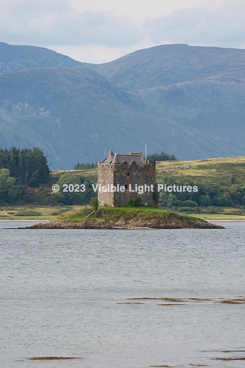 Castle Stalker in Oban on the Isle of Skye