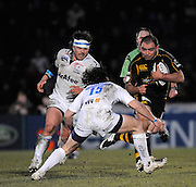 Wycombe, GREAT BRITAIN, Wasps' Raphael IBANEZ attacking with the ball, during the Guinness Premiership game, London Wasps vs Sale Sharks 15.04.2008 [Mandatory Credit Peter Spurrier/Intersport Images]