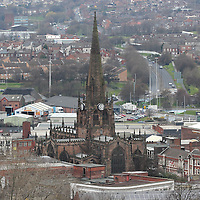 ROTHERHAM TOWN AERIAL IMAGES<br /> 01/05/2016<br /> <br /> Mandatory Credit - Alex Roebuck / www.alexroebuck.co.uk
