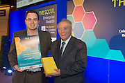27/01/2014 SCCUL Enterprise Award<br /> for Entertainment, Media &amp; Leisure prize went to Bruce Henry from Murder on the Menu received his prize from Pat O Sullivan  SCCUL.<br /> <br /> <br /> Murder on the Menu is Galway&rsquo;s best entertainment company that specialises in murder mystery themed events. <br /> You can book them for one of their private dining nights, team building exercises or sit back and enjoy one of their hilarious scripted comedy shows at your next corporate event. <br /> It&rsquo;s a killer experience!<br /> <br /> <br /> Photo:Andrew Downes