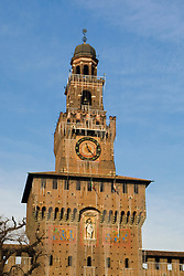 Castle Sforzesco, Milan, Italy / Italia December 6, 2007.