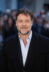 Russell Crowe arrives for the UK premiere of the film 'Noah', Odeon, London, United Kingdom. Monday, 31st March 2014. Picture by Daniel Leal-Olivas / i-Images