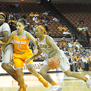November 30, 2014: The University of Texas at Austin, Longhorns vs. The University of Tennessee, Volunteers. Frank Erwin Center, Austin, Texas.