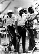 Police at Reggae Sunsplash 1979