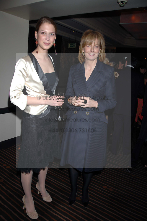 Left to right, LADY GABRIELLA WINDSOR and JULIA PEYTON-JONES at a lunch hosted by Ralph Lauren to present their Spring 2007 collection in support of the Serpentine Gallery's Education Programme, held at Fifty, 50 St.James's Street, London SW1 on 20th March 2007.<br />