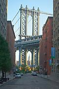 Dumbo area of Brooklyn,  New York.