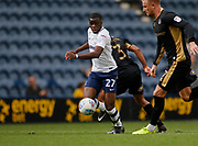 Stephy Mavididi of Preston North End during the EFL Sky Bet Championship match between Preston North End and Millwall at Deepdale, Preston, England on 23 September 2017. Photo by Paul Thompson.