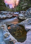 Spring is a popular season for visitors to the Great Smoky Mountains National Park, due to the blooming of the many species of trees and wildflowers. The Little  Pigeon River is also a popular location with trout fishermen and photographers.