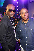 Water Mill, New York: Recording Artists Naughty-by-Nature perform at the RUSH Philanthropic Arts Foundation 15th Annual Art For Life Benefit Gala held in the Hamptons at the Farmview Farms on July 26, 2014  in Water Mill, New York. (Terrence Jennings)