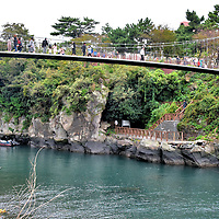 Yongyeon Bridge in Jeju City, South Korea<br />