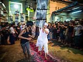 Firewalking for Ashura in Yangon