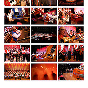 Pictures of Budapest Gypsy Symphony Orchestra (100 Violins)  during their trip from Budapest to Istanbul by bus on December 2007