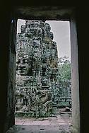 Bayon Temple Faces Siem Reap Cambodia Angkor Wat