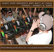UK musician and DJ Ben Watt performing one of his legend-making nights in NYC on August 3, 2006.