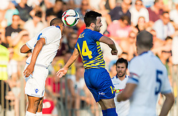 Goran Galesic #14 of Luka Koper during First Leg football match between FC Luka Koper and HNK Hajduk Split (CRO) in Second qualifying round of UEFA Europa League, on July 16, 2015 in Stadium Bonifika, Koper, Slovenia. Photo by Vid Ponikvar / Sportida