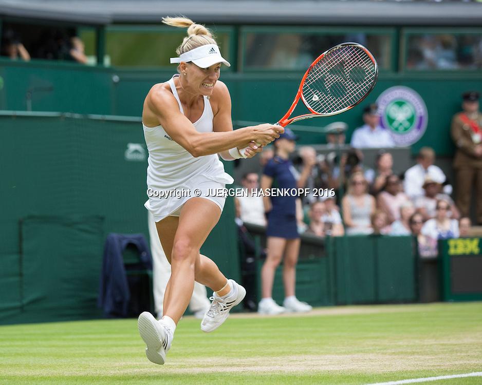 ANGELIQUE KERBER (GER), Damen Endspiel, Finale <br /> <br /> Tennis - Wimbledon 2016 - Grand Slam ITF / ATP / WTA -  AELTC - London -  - Great Britain  - 9 July 2016.