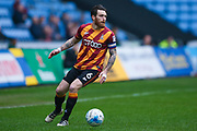 Bradford City midfielder Romain Vincelot (6)  during the EFL Sky Bet League 1 match between Coventry City and Bradford City at the Ricoh Arena, Coventry, England on 11 March 2017. Photo by Simon Davies.