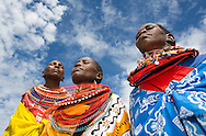 Samburu tribe in Northern Kenya