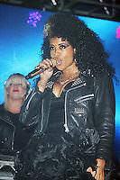 LONDON - JUNE 16: Kelis performs at Lovebox, Victoria Park, London, UK. June 17, 2012. (Photo by Brett Cove/piQtured)